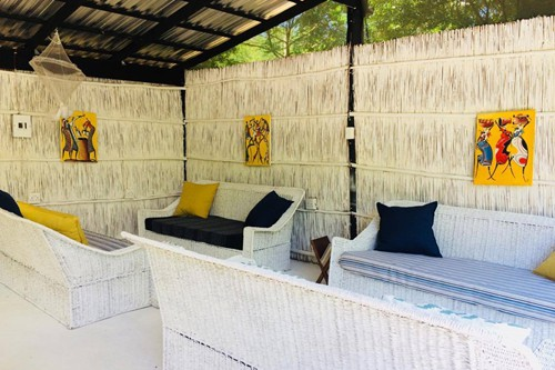 Tierras del Mar Luxury Tented camp lounge